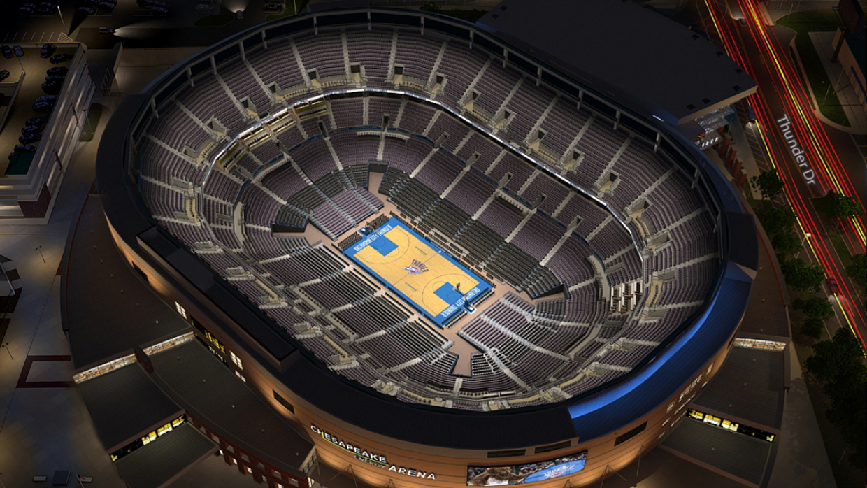Oklahoma City Thunder Virtual Venue By Iomedia